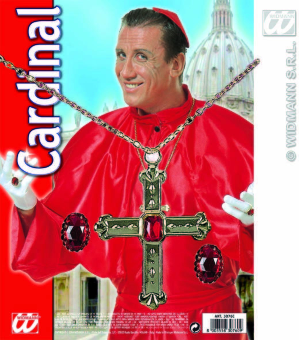 Cardinal Jewellery Set - Fancy Dress (Vicars/Nuns)