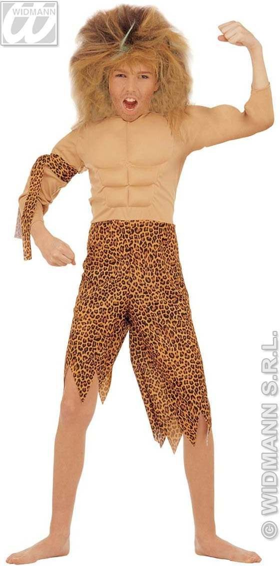 Jungle Boy Costume Child Fancy Dress Costume Boys (Cultures)