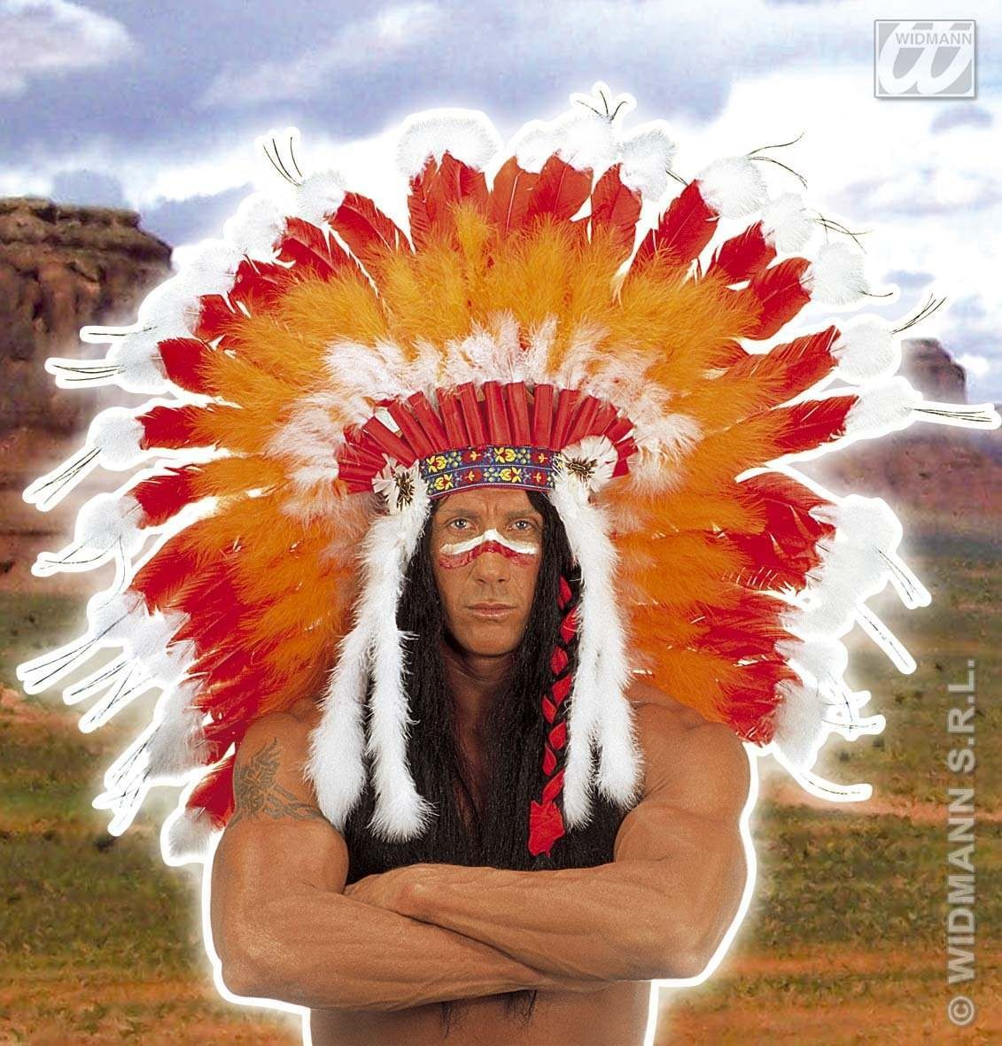 Indian Headdress Professional - Fancy Dress (Cowboys/Indians)