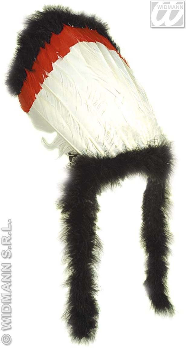 Luxury Native Indian Headgear W/Marabou - Fancy Dress (Cowboys/Indians)