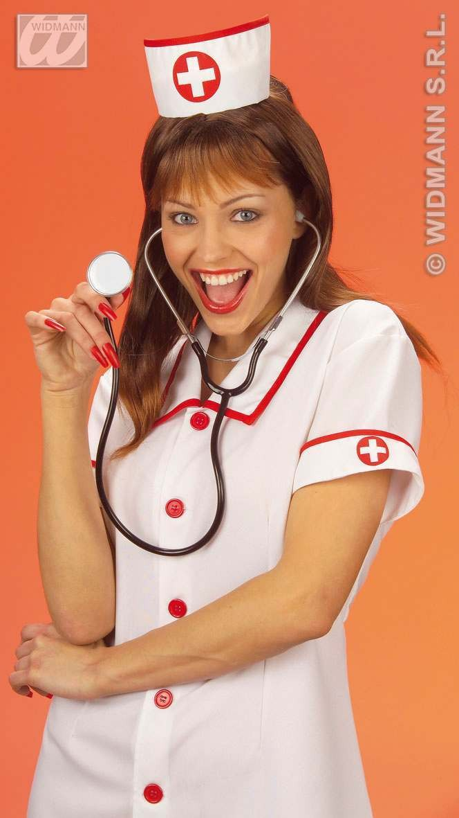 Nurse Hat - Fancy Dress (Doctors/Nurses)