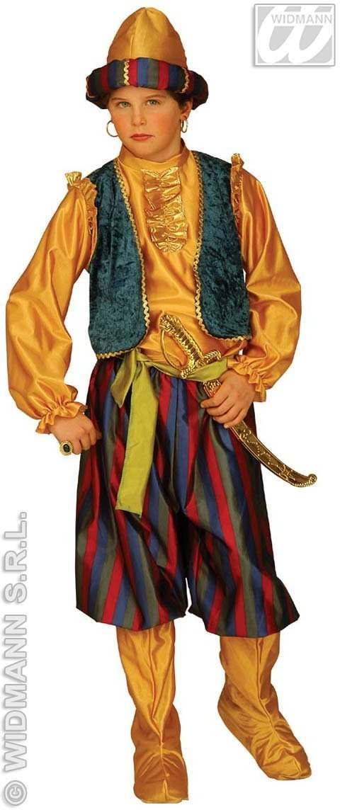 Ali With Shirt W/Vest, Pants W/Boot Covers, Fancy Dress (Cultures)