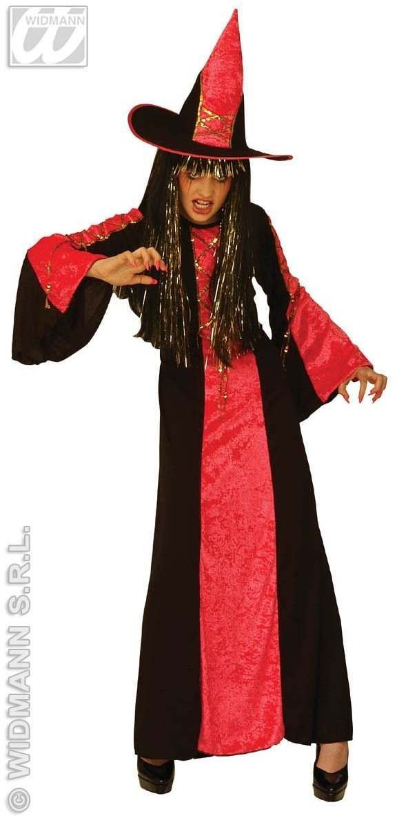 Castle Witch Costume Child Age 8-10 Fancy Dress Costume (Halloween)