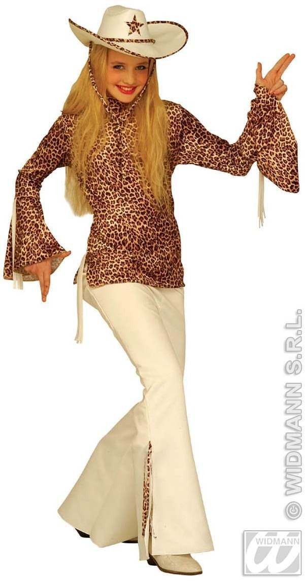 Texas Jazz Teen Costume Child Age 8-10 Costume Girls (Cultures)