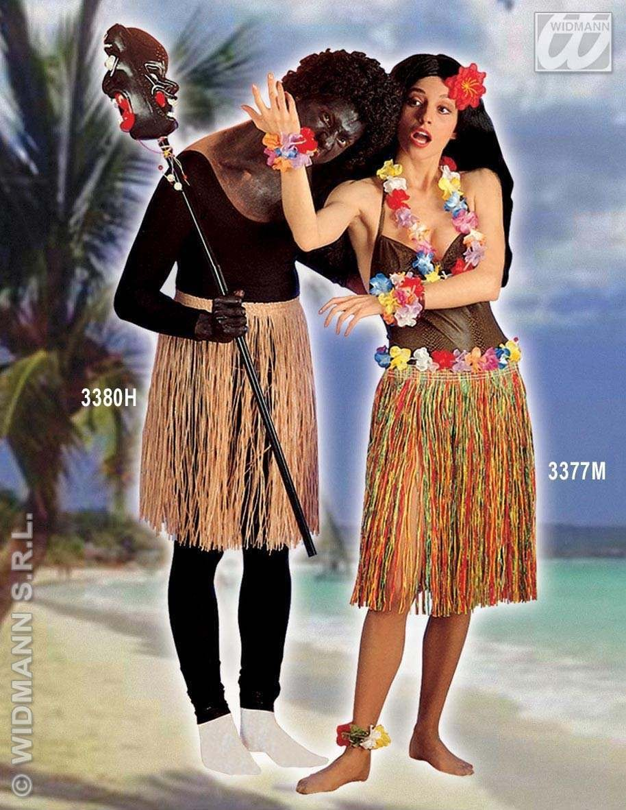 Straw Skirt 55Cm - Fancy Dress
