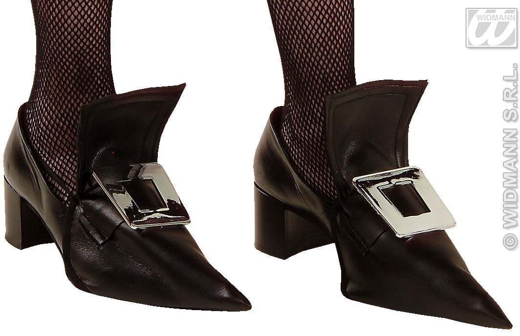 Witch Shoecover W/Metal Buckle - Fancy Dress (Halloween)