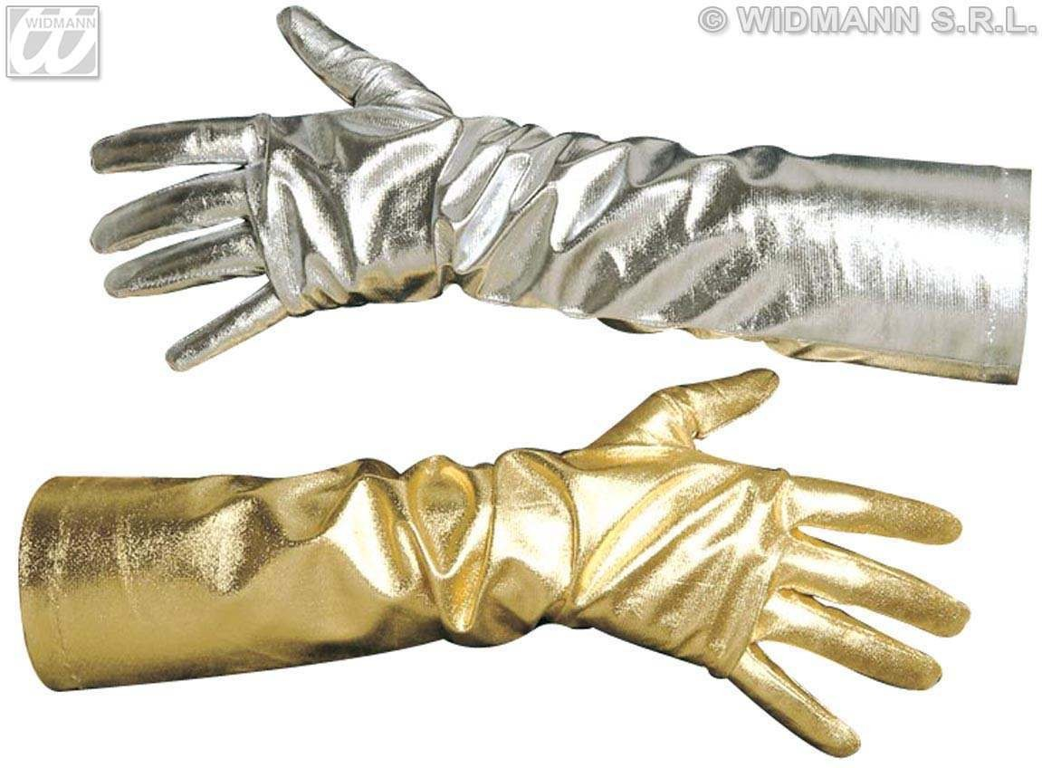 Gloves Metallic Gold/Silver - Fancy Dress