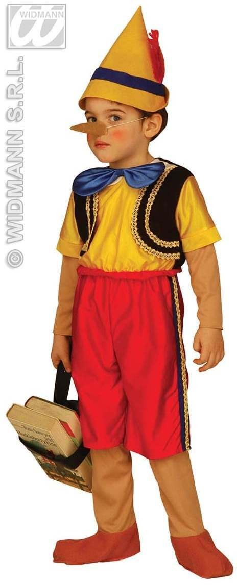 Pinocchio Costume Child Age 4-5 Fancy Dress Costume (Cartoon)