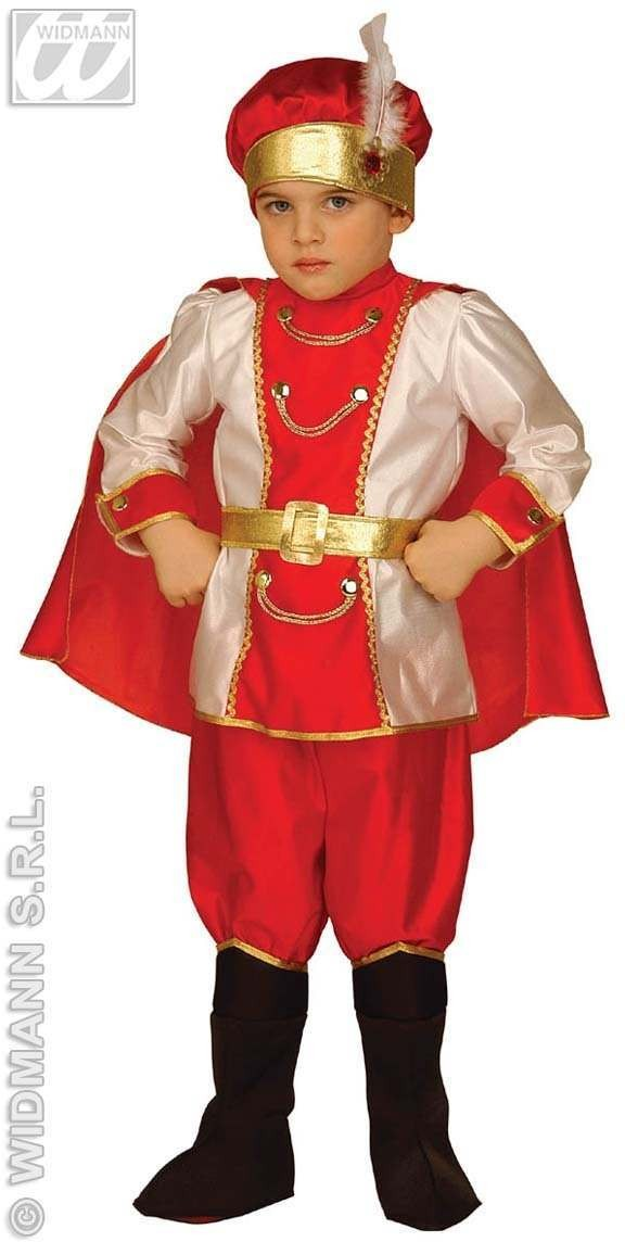 Little Snow Prince Costume Child 3-4 Costume Boys (Royalty)