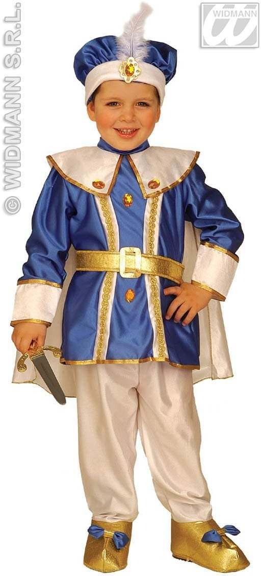 Little Royal Prince Costume Child 4-5 Costume Boys (Royalty)