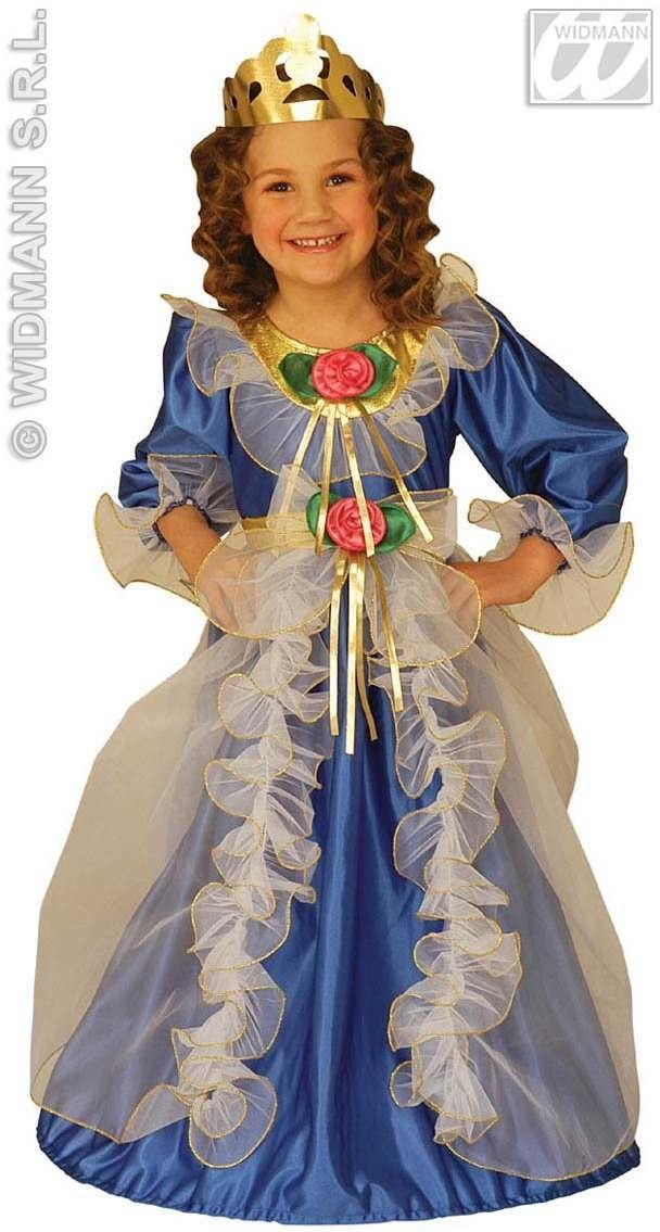 Little Royal Princess Costume Child 3-4 Costume Girls (Royalty)