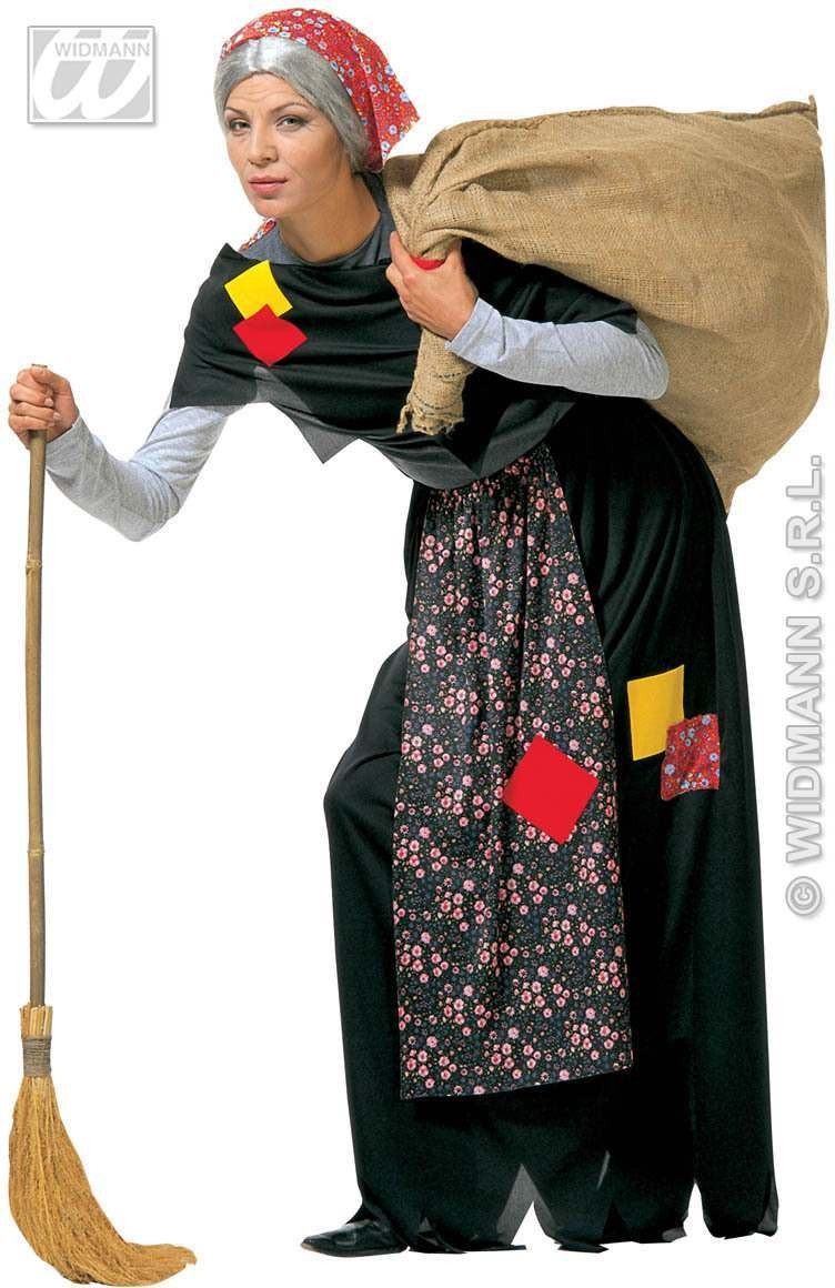 Old Witch Adult Fancy Dress Costume Ladies (Halloween)