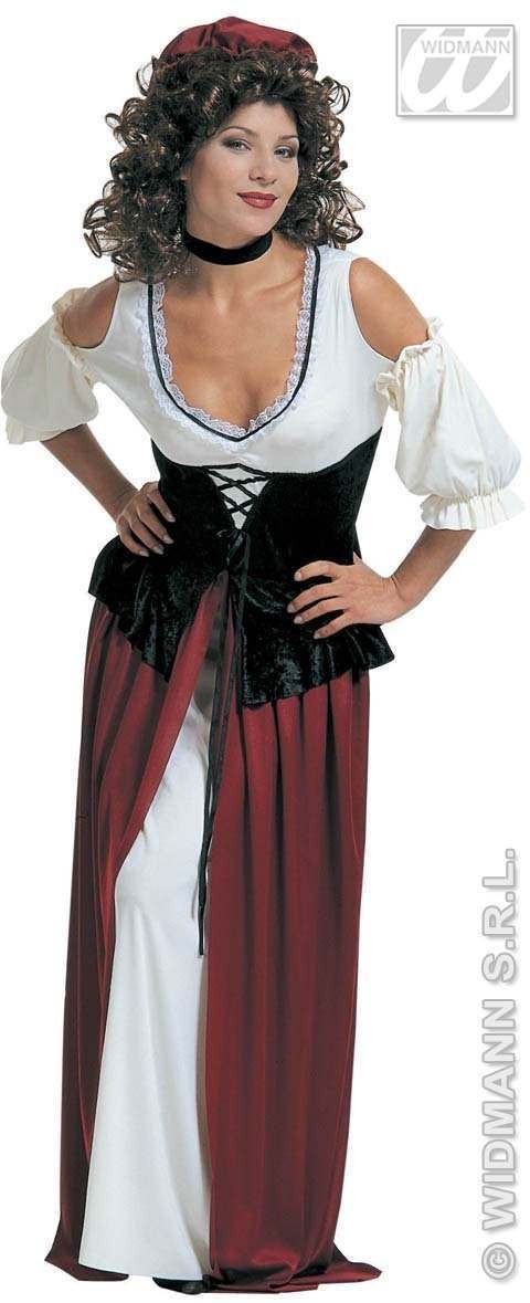 Tavern Wench Adult Fancy Dress Costume Ladies (Pirates)