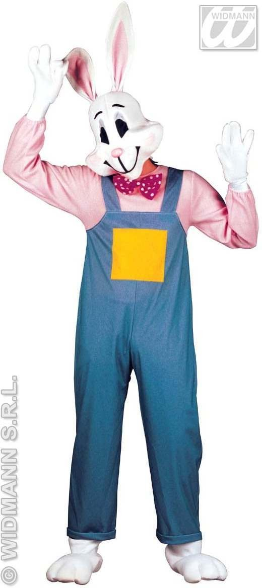 Country Rabbit Adult Fancy Dress Costume Mens (Animals)