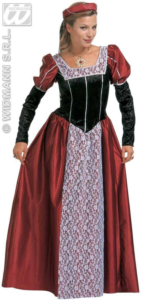 Castle Beauty Adult Fancy Dress Costume Ladies (Fairy Tales)