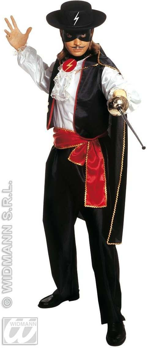 Caballero Costume Adult Mens Fancy Dress Costume (Spanish)