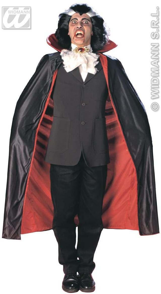 Deluxe Lined Capes & Collar 135Cm Costume (Halloween)