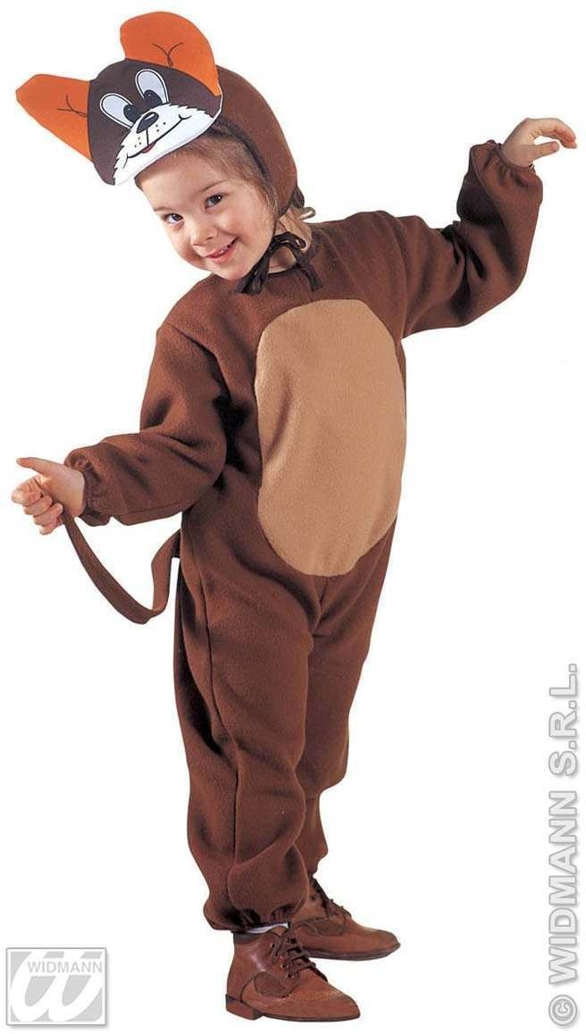 Little Mouse Jumpsuit & Headpiece 3-4 Costume (Animals)