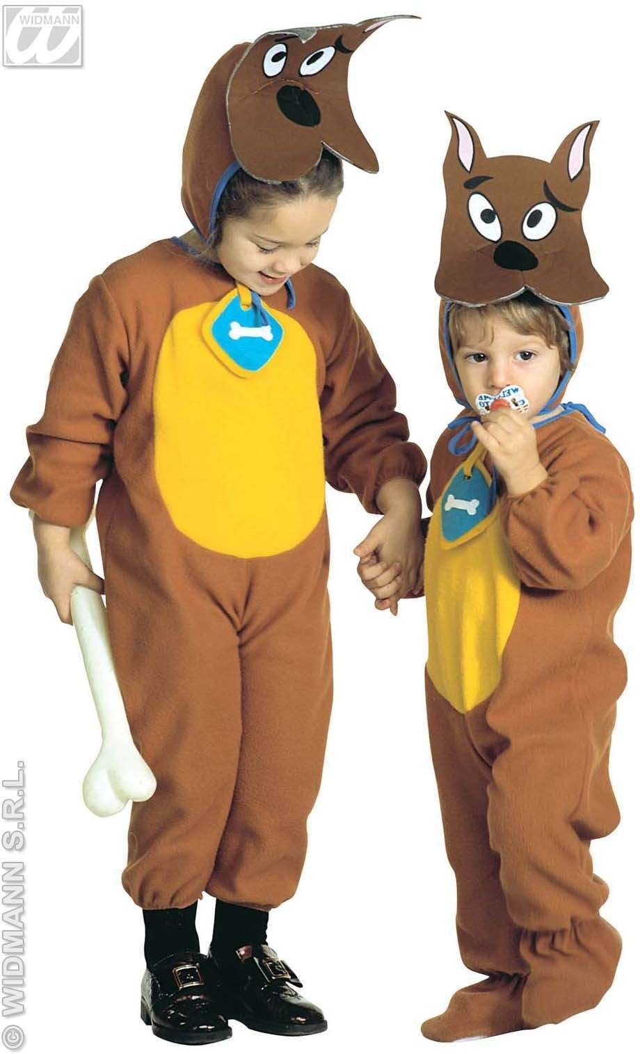 Puppy - Jumpsuit & Headpiece W/Mask Costume Age 2-3 (Animals)