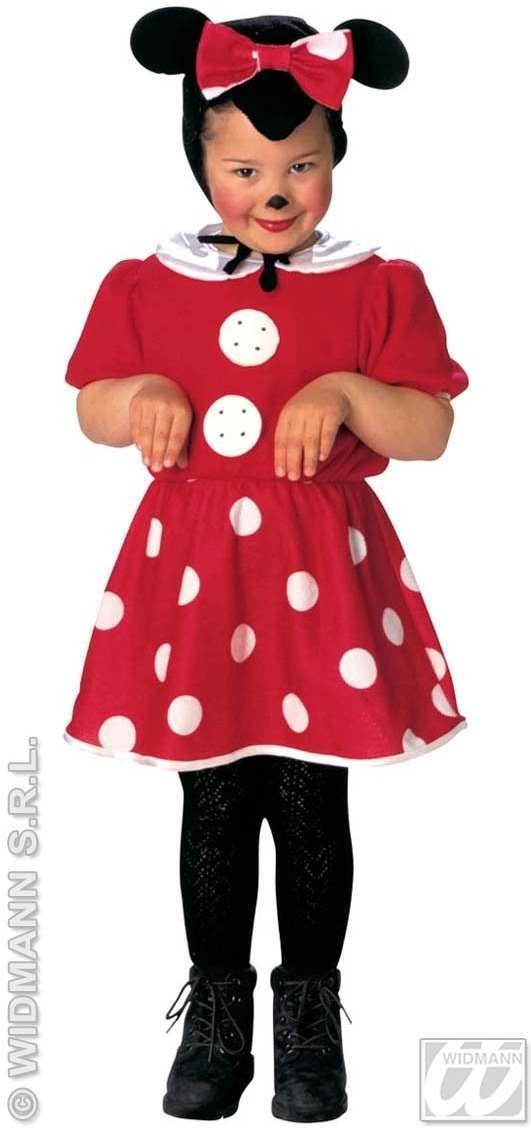 Little Mouse Costume Toddler 2-3 Fancy Dress Costume (Animals)