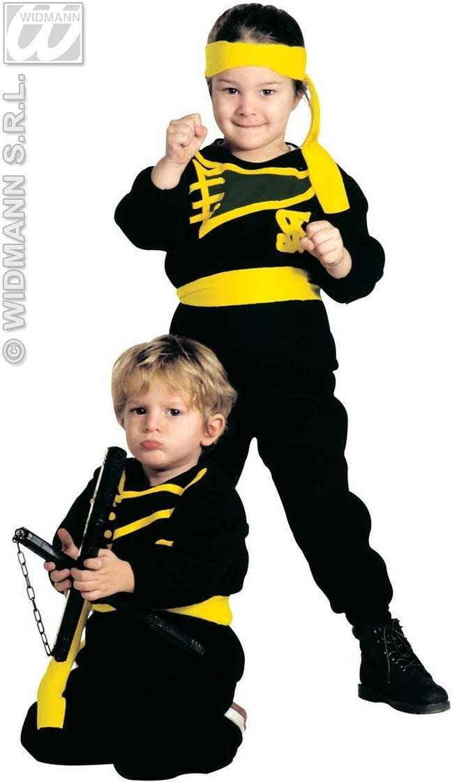 Little Ninja Costume Child 3-4 Fancy Dress Costume (Ninja)