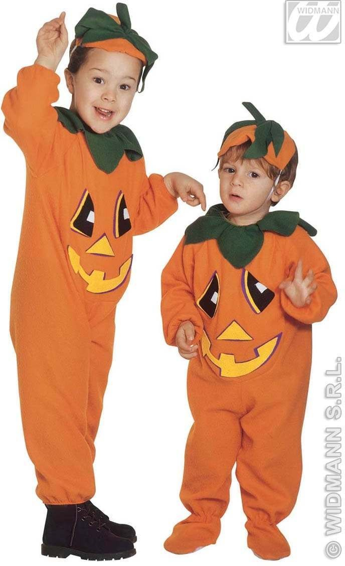 Little Pumpkin Costume Toddler 2-3 Fancy Dress Costume (Halloween)