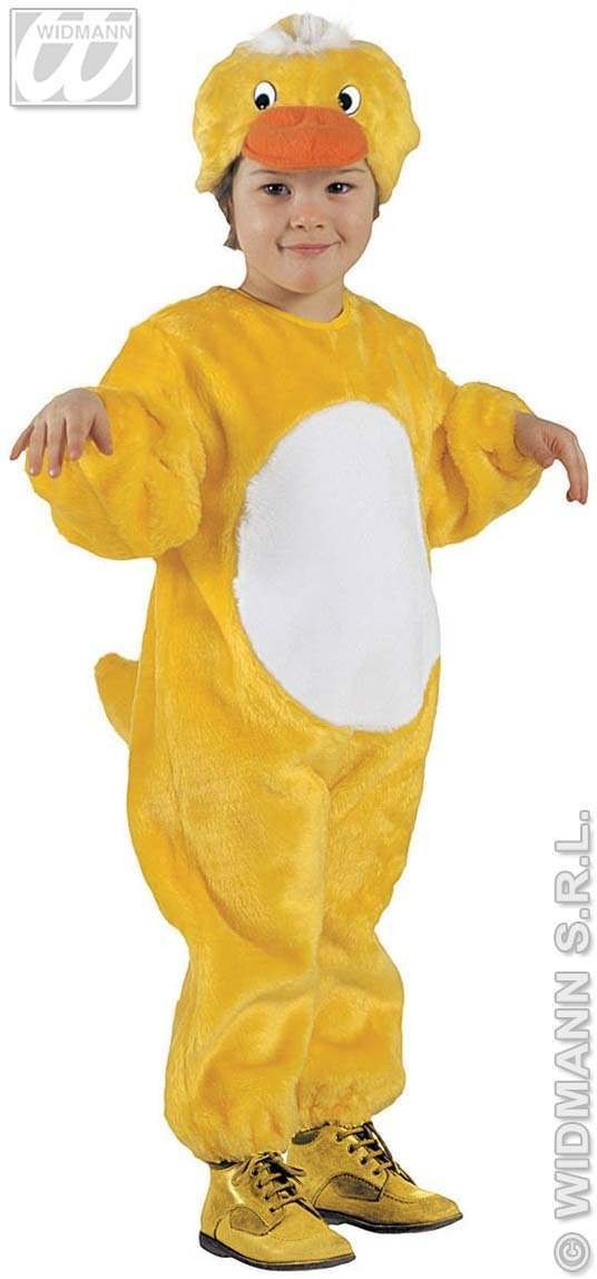 Plush Little Duck Costume 4-5 Fancy Dress Costume (Animals)