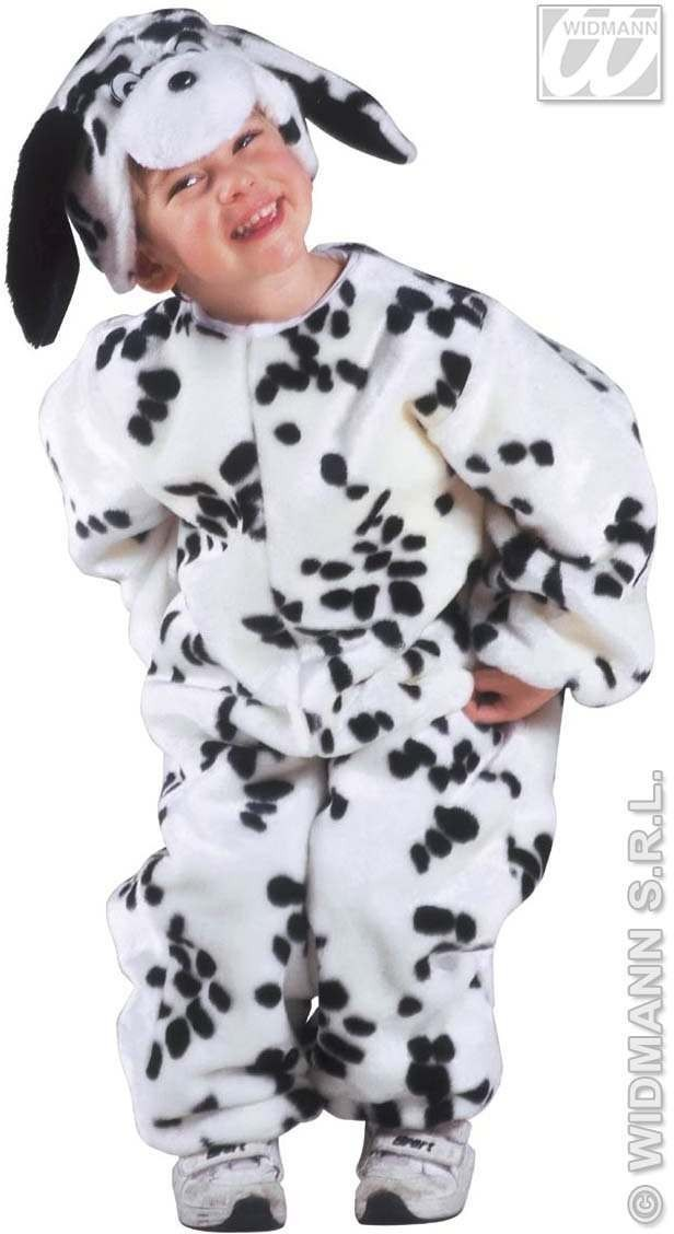 Plush Little Dalmatian Costume Child 3-4 Costume (Animals)