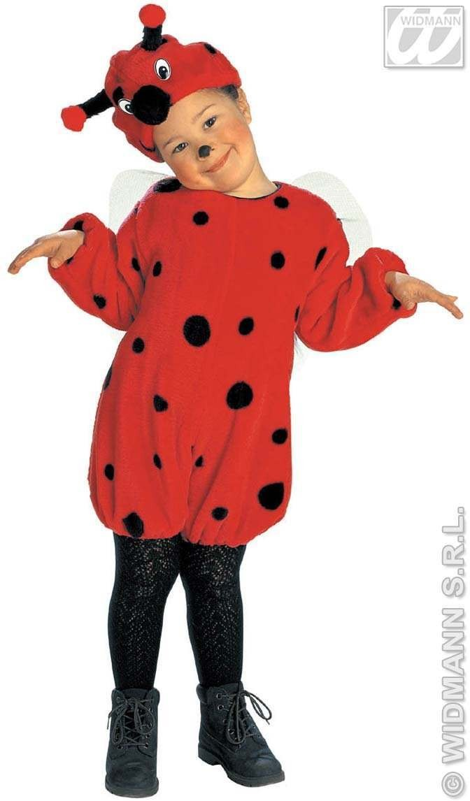 Plush Little Bug Costume Child 4-5 Fancy Dress Costume (Animals)