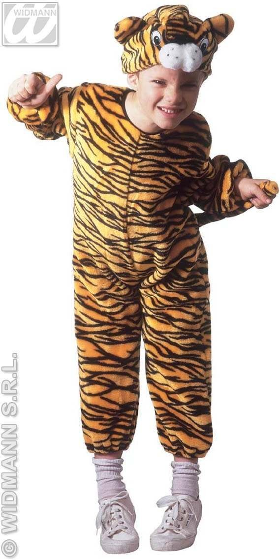 Plush Little Tiger Costume Child 3-4 Costume (Animals)