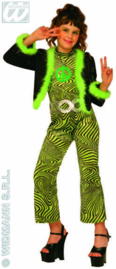 Trendy Girl Costume Kids Green Costume Age 4-5 Girls