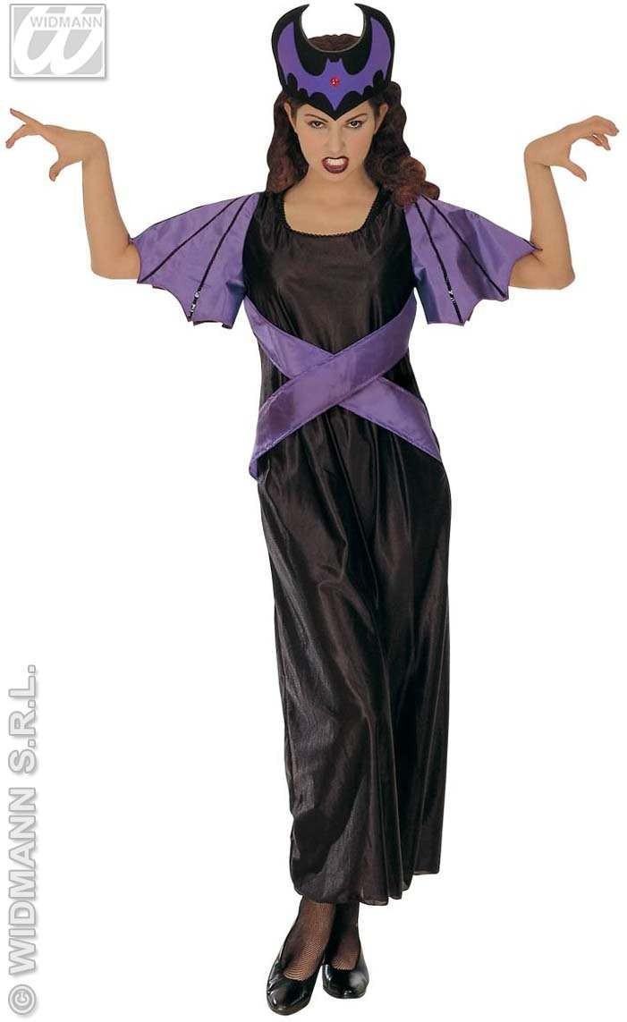 Dark Queen Costume Adult Fancy Dress Costume Ladies (Royalty)