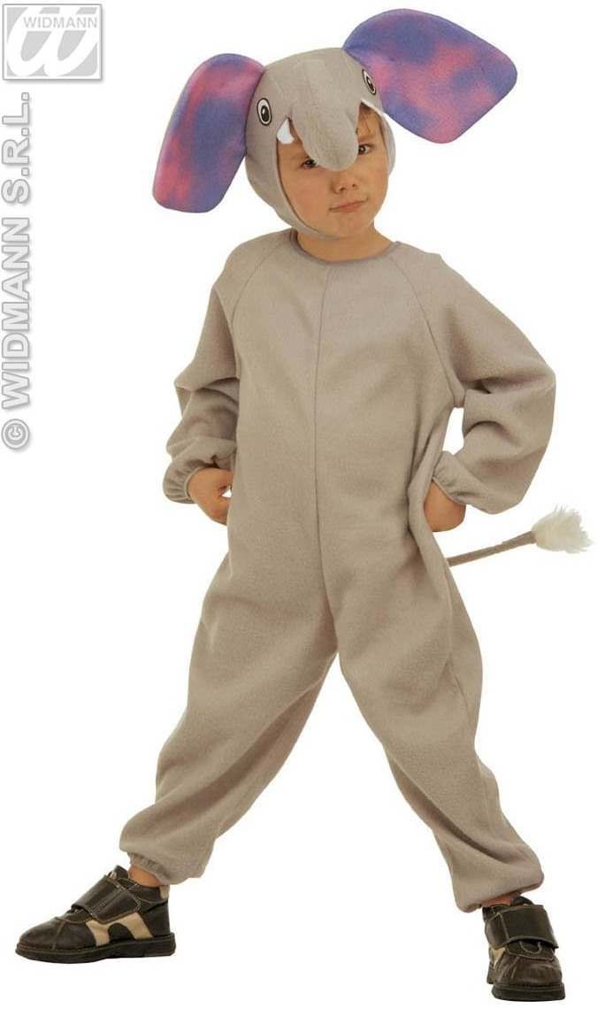 Little Elephant Costume Toddler 3-4 Fancy Dress Costume (Animals)