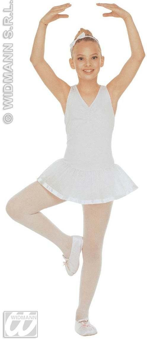 Ballet Dancer Leotard Tutu & Shoes Costume Fancy Dress