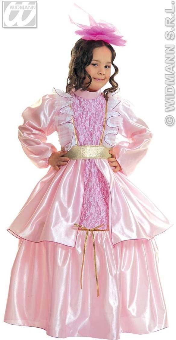 Little Lady Rose Costume Child 3-4 Fancy Dress Costume
