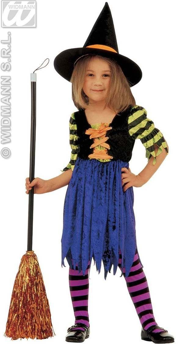 Little Witch Costume Child 4-5 Fancy Dress Costume (Halloween)