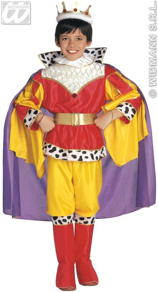 King Costume Child Top Range Fancy Dress Costume (Royalty)