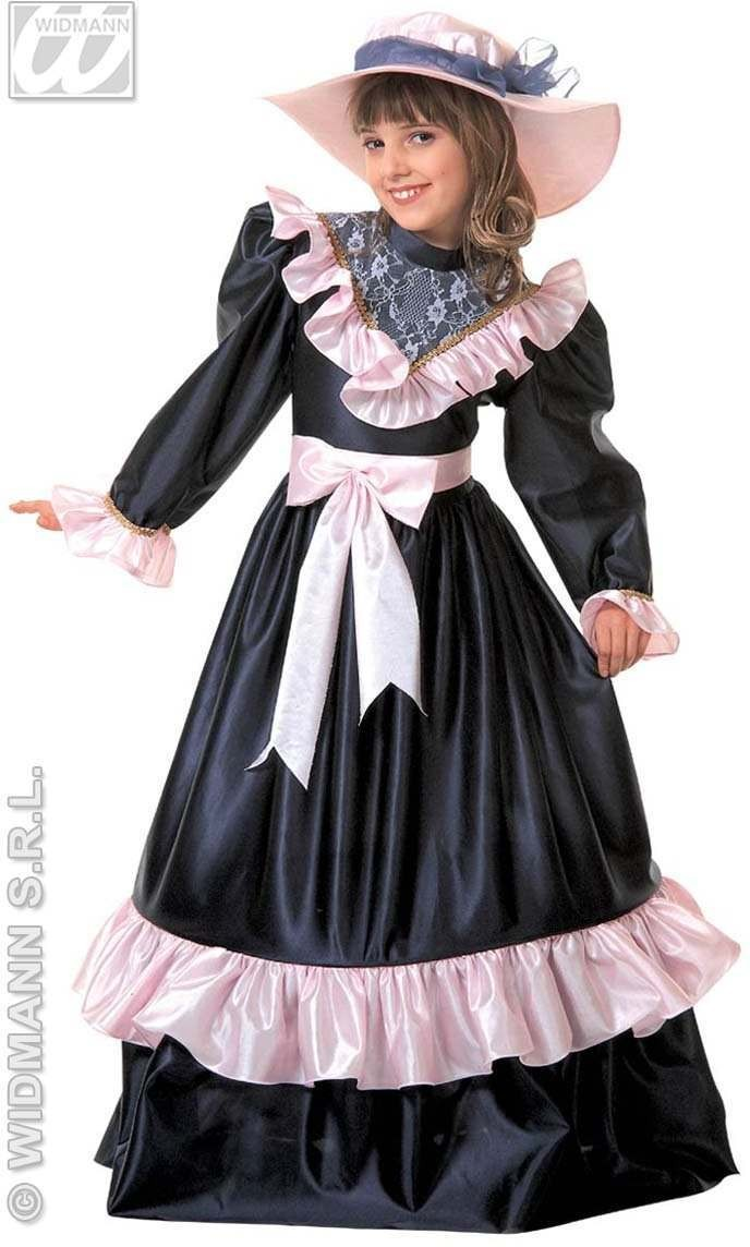 Pretty Lady Costume Child 5-7 Fancy Dress Costume Girls