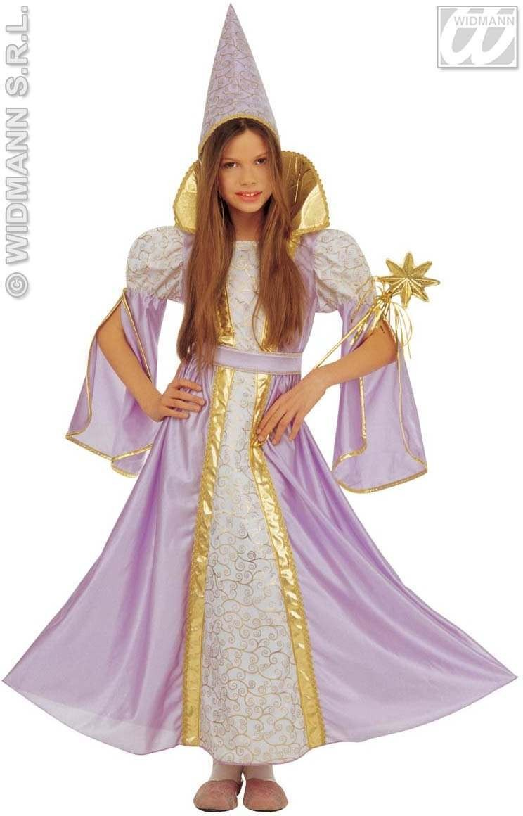 Fancy Fairy With Dress, Hat Assorted Pink and Purple Fancy Dress (Fairy Tales)