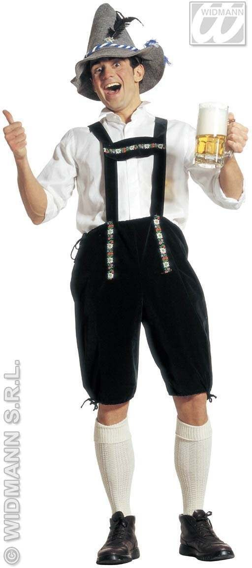 Bavarian Man Adult Fancy Dress Costume Mens (Cultures)