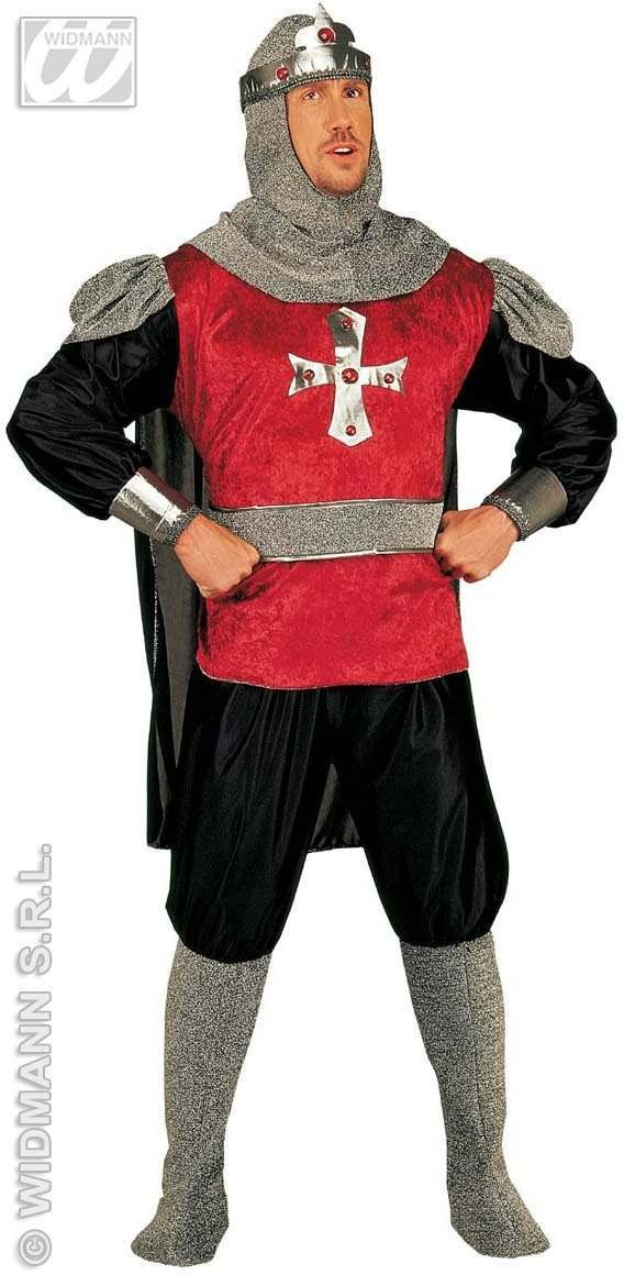 Crusader Adult Fancy Dress Costume Mens (Medieval)