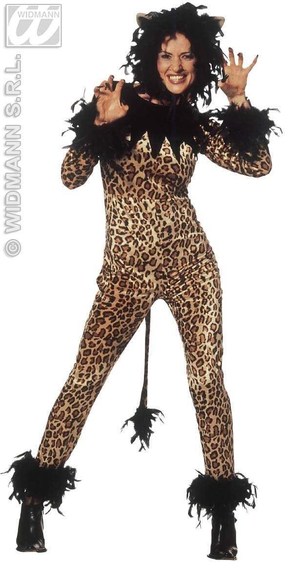 Tigresse Adult Fancy Dress Costume Ladies (Animals)
