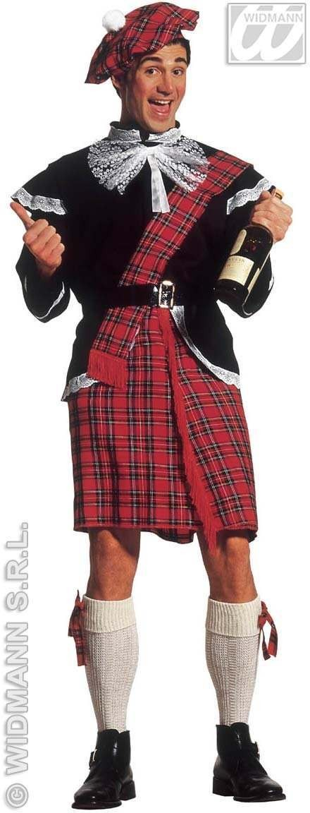 Scottish Adult Fancy Dress Costume Mens (Cultures)