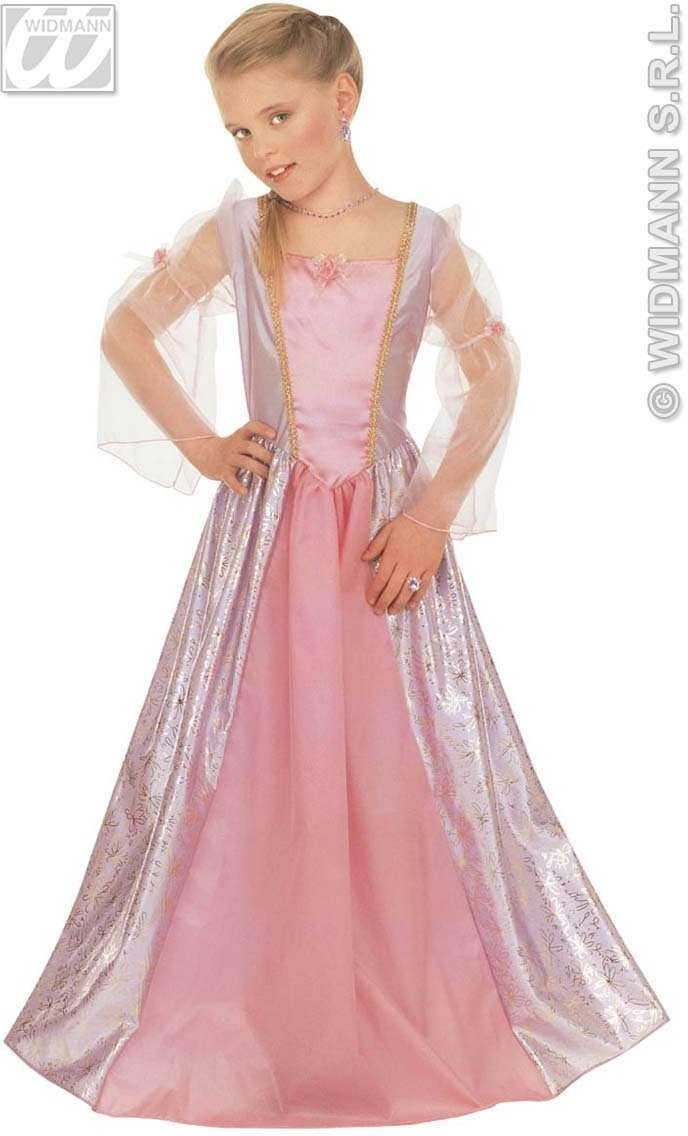 Silvia Dress Child Glamour Range Fancy Dress Costume