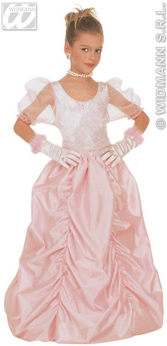 Pamela Glamour Dress Child Fancy Dress Costume Girls