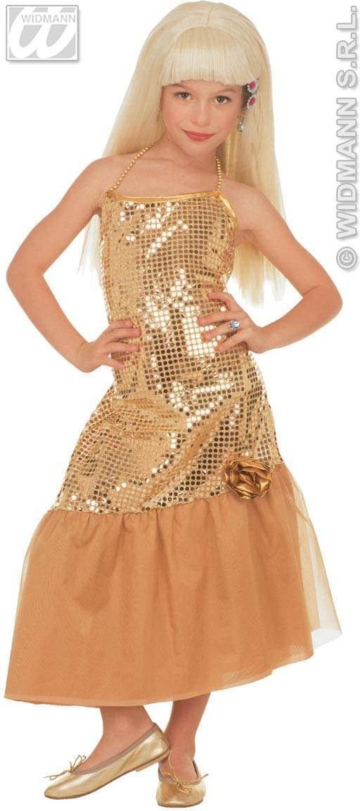 Glamour Naomi With Sequin Dress Fancy Dress Girls