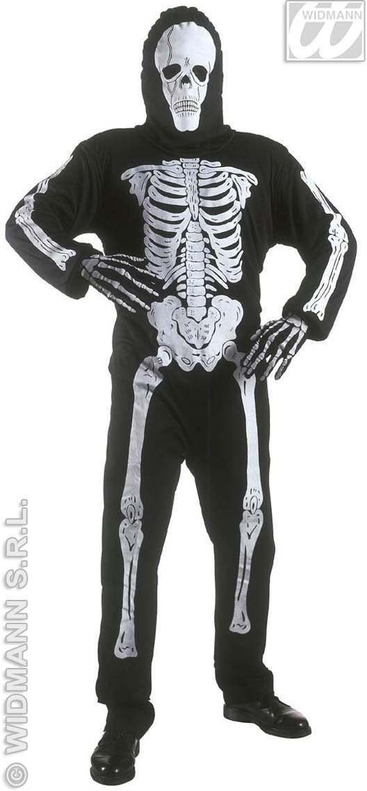Skeleton Costume Child Fancy Dress Costume Boys (Halloween)