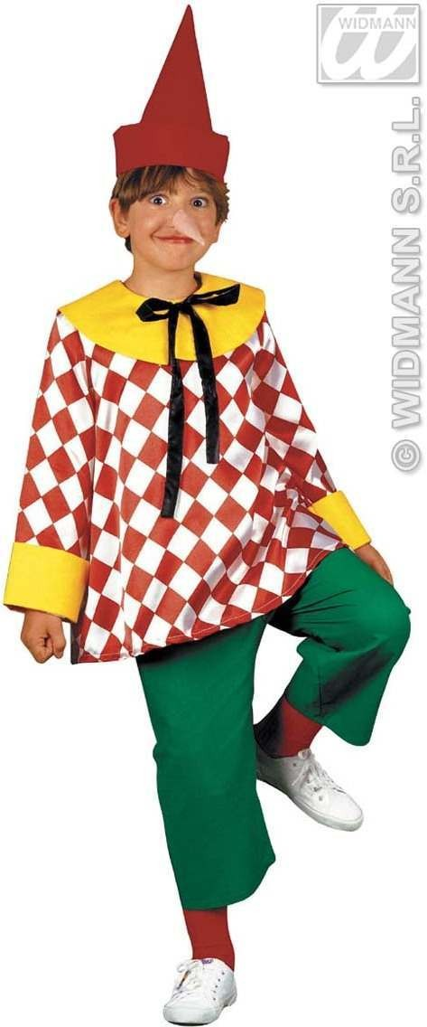 Puppet Costume Child Fancy Dress Costume Boys (Fairy Tales)