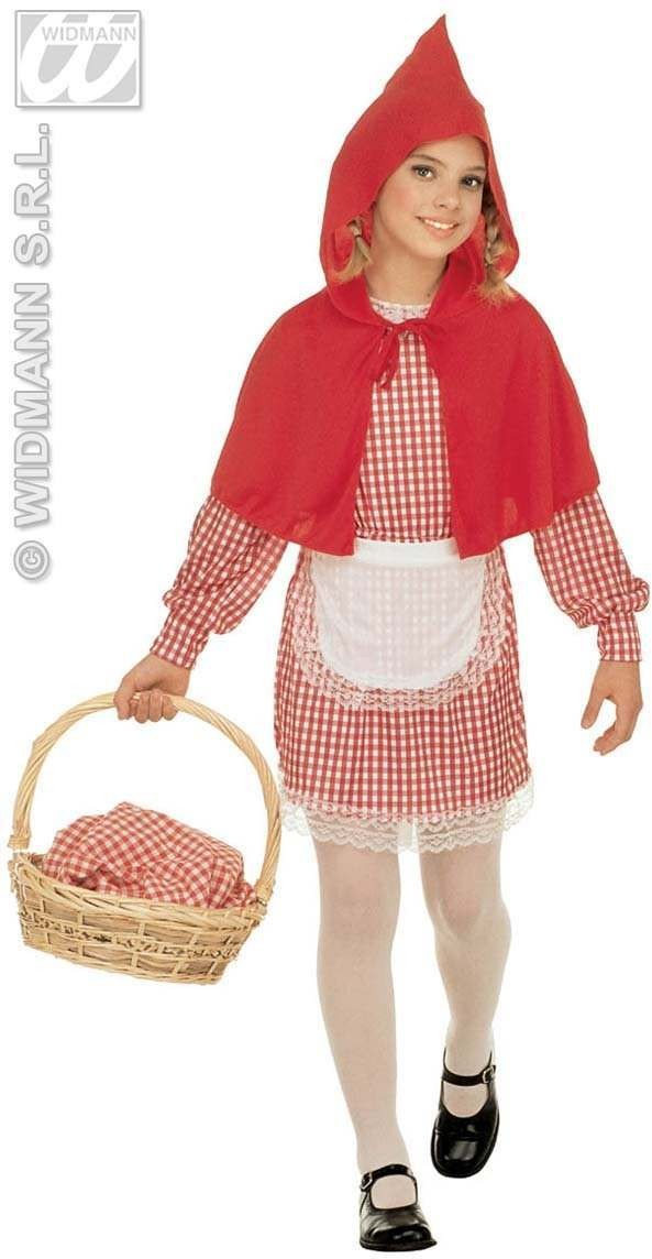 Red Riding Hood Child Costume Fancy Dress Costume (Cartoon)