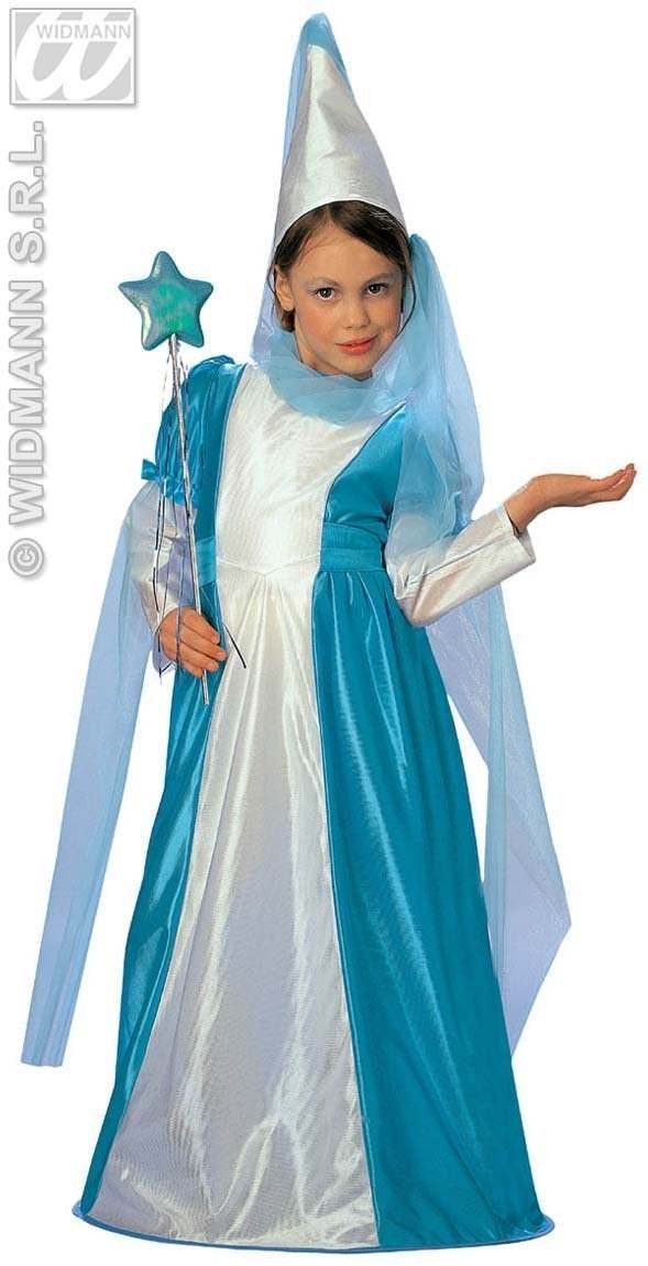 Fairy Costume Child Pink Or Blue Age 8-10 Costume Girls (Fairy Tales)